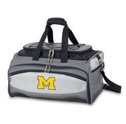 Michigan State BBQ set by WTC Trading Co.. $204.95. Description: The Buccaneer is a Picnic Time original design and the ultimate tailgating cooler and barbecue set in one! Don't be fooled by other similar looking items on the market. Only Picnic Time's Buccaneer features a PVC cooler that conveniently nests inside the compartment that houses the portable BBQ. The tote can carry the BBQ and a fully-loaded cooler at the same time! This patented, innovative design features a...
