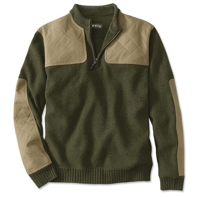 Just found this Quarter-Zip+Boiled+Wool+Hunting+Sweater+-+Upland+Sweater+--+Orvis on Orvis.com!