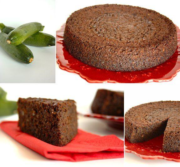 Cinco Quartos de Laranja: Bolo de courgette com farinha de alfarroba e amêndoas