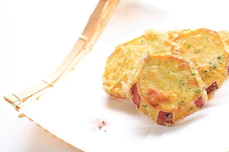 さつまいもの天ぷらおすすめ人気レシピ10選!サクサク、カラっと揚げる天ぷら粉の作り方とコツ!
