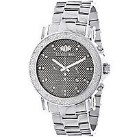 Large Face Diamond Watches for Men Oversized Luxurman Escalade Watch 0.25ct