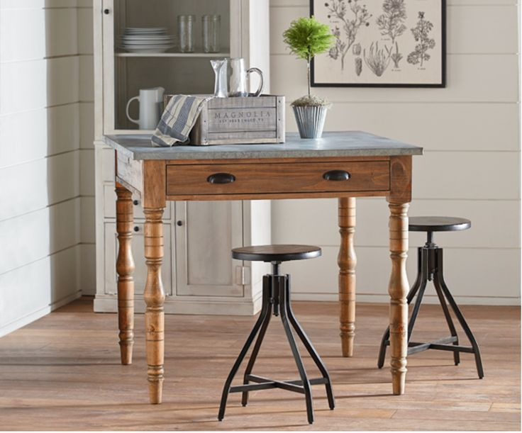 20 best magnolia home images on pinterest magnolia for Mackinzie craft room table