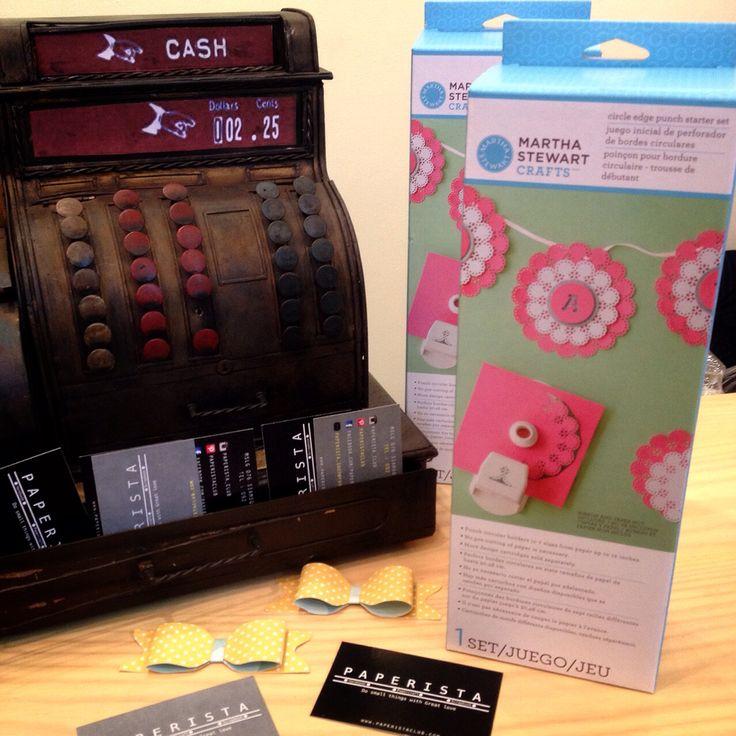 Circle edge punch starter kit ( Martha stewart )
