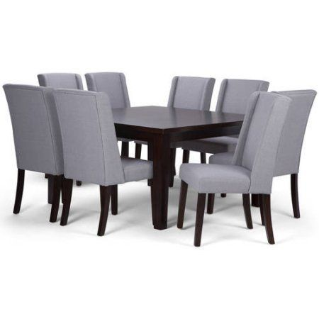 Brooklyn Max Granby 9 Piece Dining Set Beige
