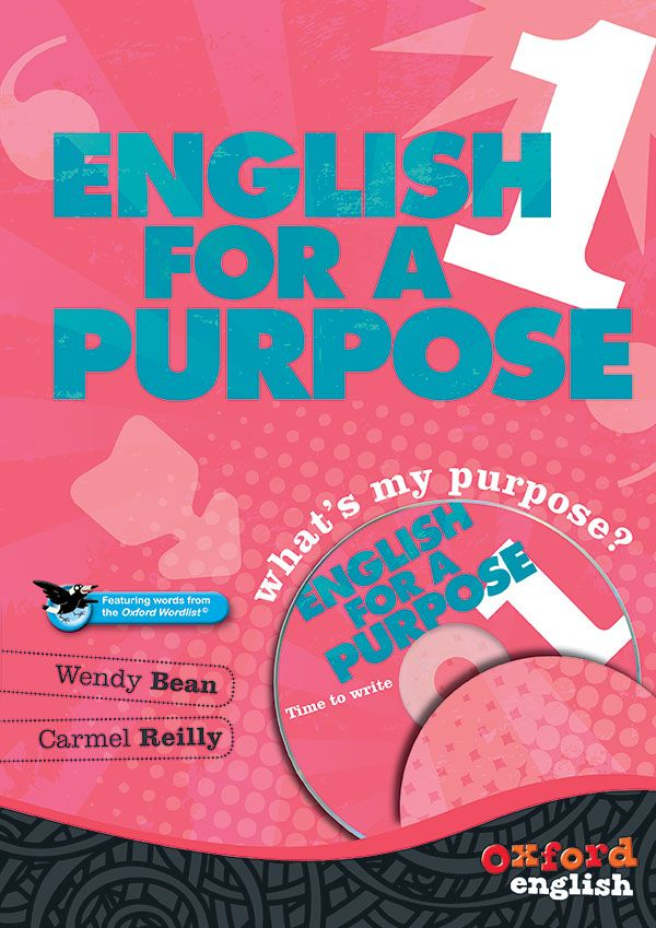 The English for a Purpose series provides a Student Book and CD-ROM pack for each level, with essential learningbuilt around the three interrelated strands of the Australian Curriculum: English: Language, Literature and Literacy.