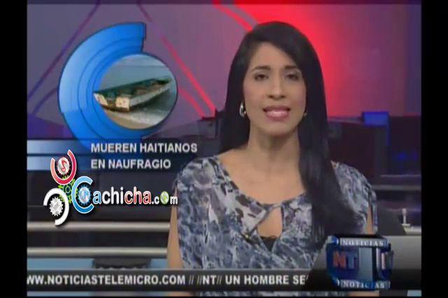 Jefe Armada Dominicana Informa Sobre Haitianos Muertos En Naufragio #Video