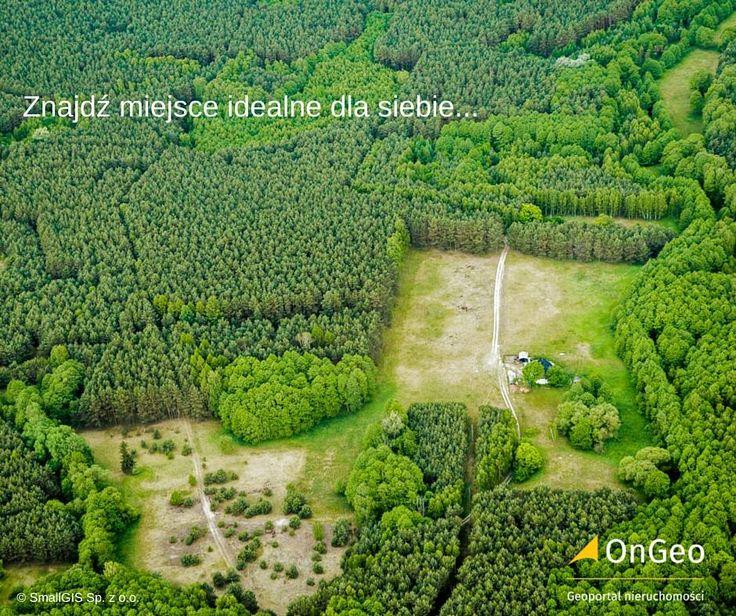 Znajdź swoje #miejsce z #OnGeo #Geoportalnieruchomości