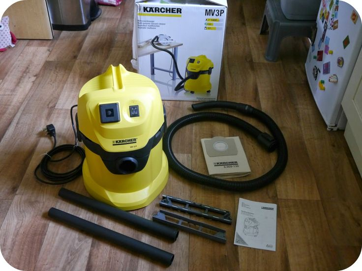 Trying out my Karcher MV3P Vac and boy does it have some suction power!