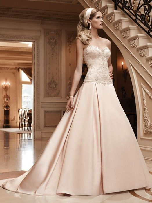 17 best ideas about drop waist wedding dress on pinterest for How much are casablanca wedding dresses