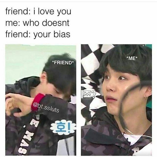 My bias is Yoongi