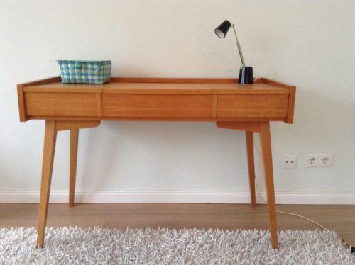 50er Jahre Schreibtisch Konsole Kommode Tisch Vintage Midcentury in Hamburg - Nord | Büromöbel gebraucht kaufen | eBay Kleinanzeigen