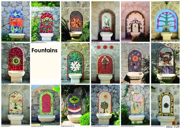 Every single Yarbasan Stone House has at least one unique outdoors water fountain that was handcrafted by a local artisan.  http://www.yarbasanevleri.com/index-en.php