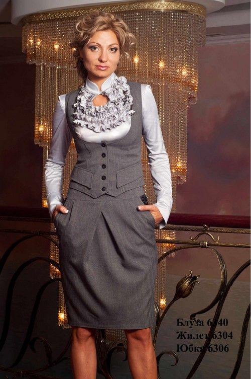 211516f832e Красивые женские деловые костюмы 2018-2019 - фото