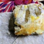 """""""Lazy Chile Rellenos"""" It's basically a Chile Relleno Breakfast Casserole.  From the Pioneer Woman."""
