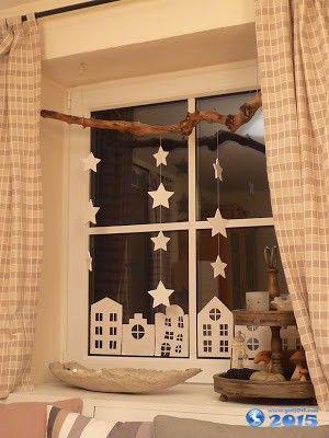 Новогодние вытынанки на окна. Шаблоны ...