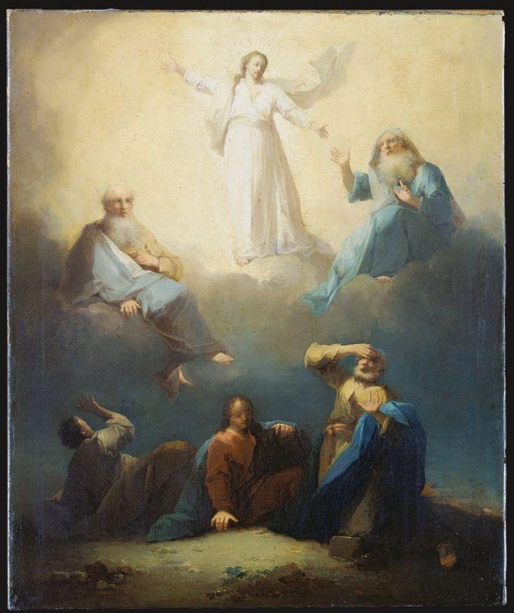 The Transfiguration of Christ / La Transfiguración de Cristo // c. 1750-1765 // Johann Georg Trautmann // © Städel Museum // #Jesus