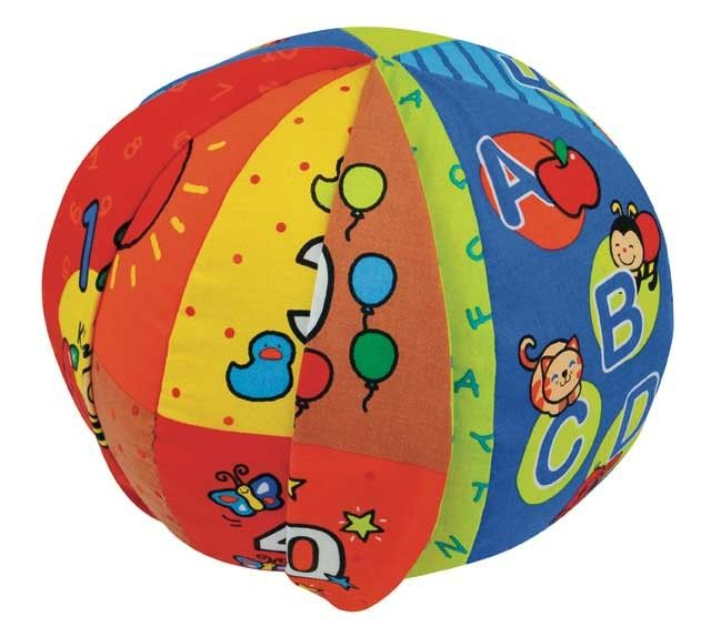 K's Kids ABC's and 123′s Talking Ball from LearningToys.ca A review from Bewitchin' Kitchen