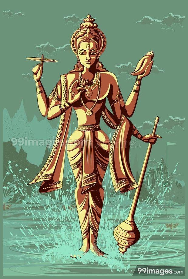 Lord Vishnu Hd Images 1080p In 2019 Lord Vishnu Latest Hd