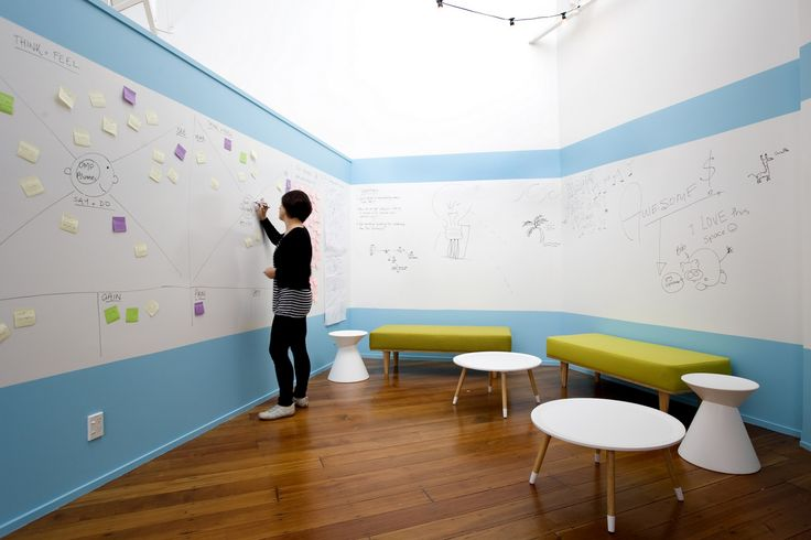 Brainstorming - The Icehouse - Auckland Coworking Offices #Office #Design