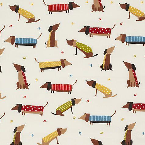 Buy John Lewis Saucisson PVC Tablecloth Fabric, Multi Online at johnlewis.com
