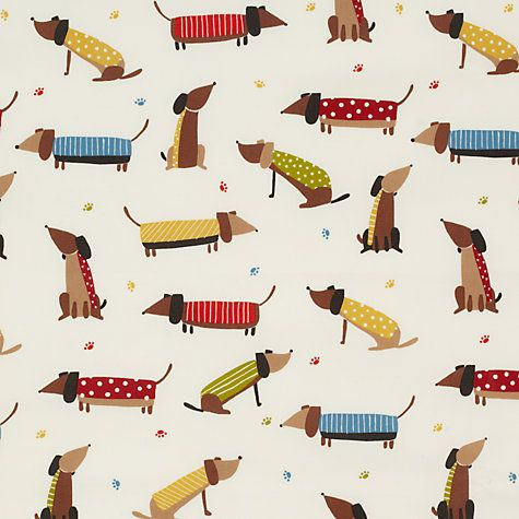 Buy John Lewis Saucisson PVC Tablecloth Fabric, Multi Online at johnlewis.com