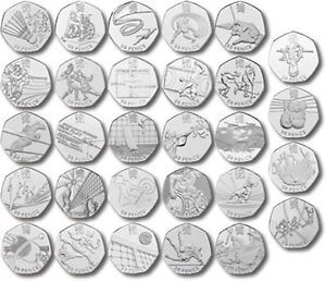 Which ones are worth getting?With the London 2012 Olympics well and truly over people from all over the UK have snapped up the mint rare 50p coins.   Some were printed more than others and some have become...
