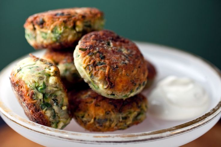 These zucchini fritters are based on a recipe I learned from the cookbook author Diane Kochilas A classic mezze served in Greek taverna, they're like a Greek version of latkes.