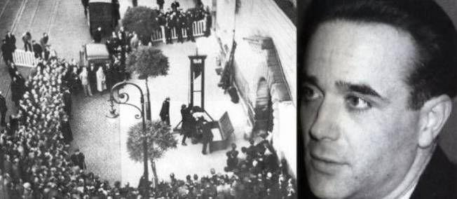 17 juin 1939 ♦ Le séducteur assassin Eugène Weidmann est filmé durant son exécution.