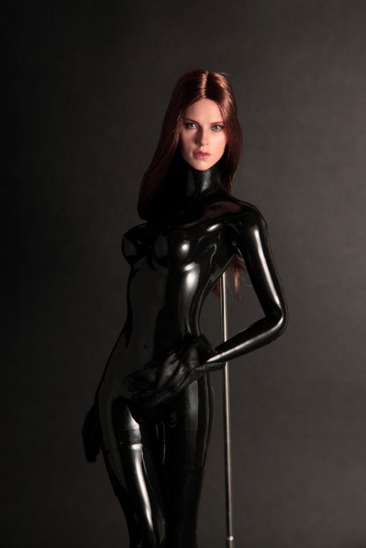 Liquid Latex Body Suit - Nude Photos-6927
