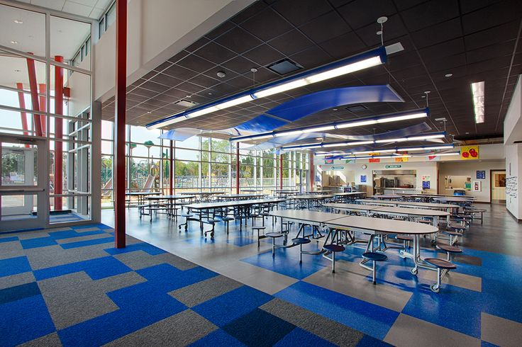 Lake Mills Elementary - cafeteria