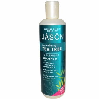 Sampon tratament Jason,cu tea tree pt par deteriorat