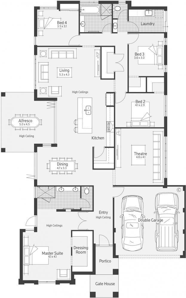 Seiiki Display Home - Lifestyle Floor Plan
