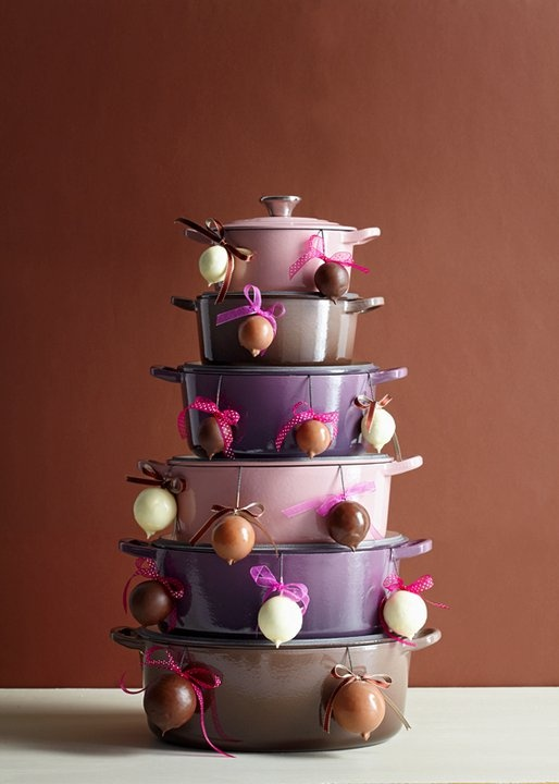 Le Creuset tree...love the colors!!