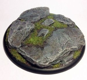 A great step-by-step guide on how to paint natural looking rock bases with Citadel paints.  The key is to use lots of different washes!