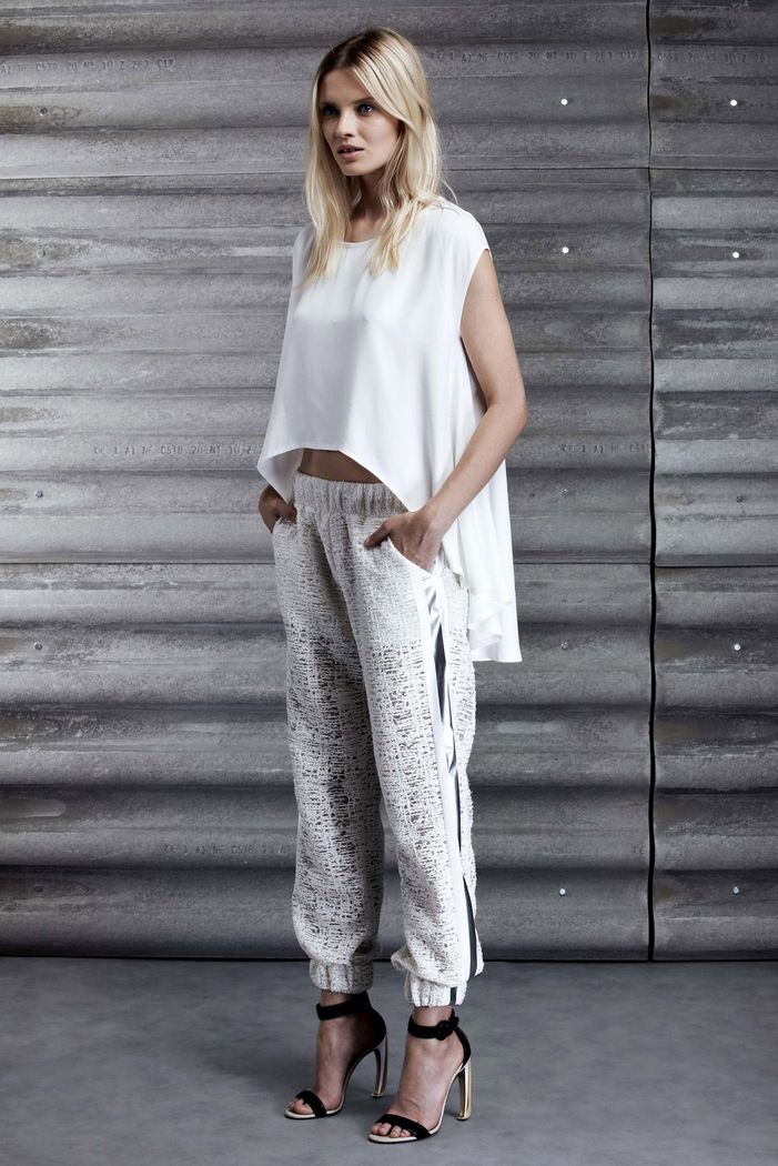 Jay Ahr Resort 2014 / love this slouchy pant