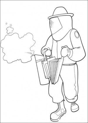 Bee Movie Coloring Page 19