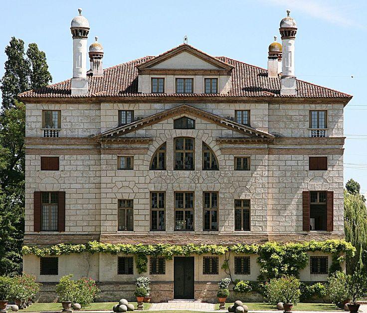 Andrea Palladio - Villa Foscari (detta La Malcontenta) - Prospetto posteriore