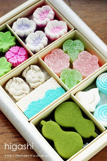 Japanese sweets / 干菓子
