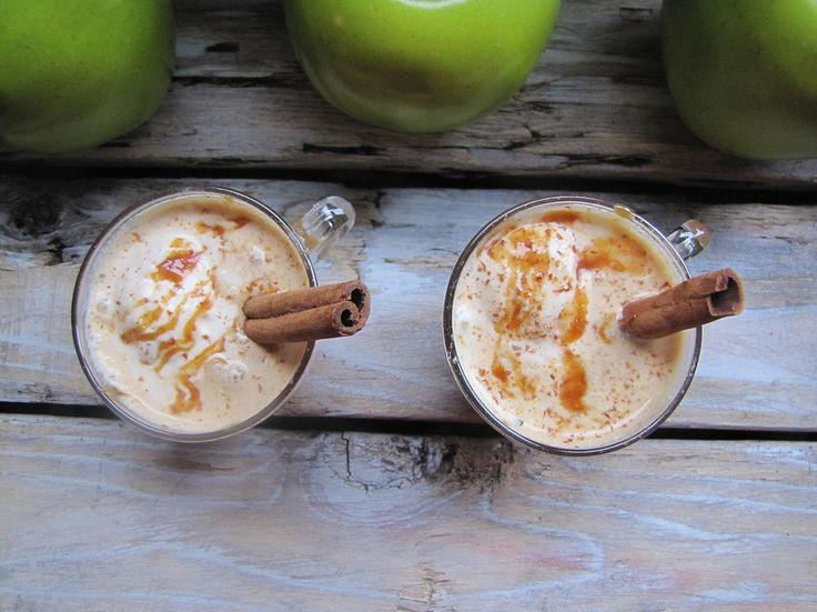 Hot Apple Cider Float Apple Pie Ice Cream, Salted Caramel Toque Catering Victoria BC