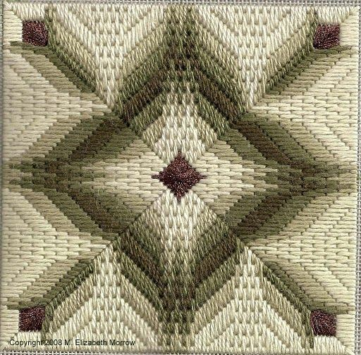 Free Bargello Needlepoint Patterns | ... and Bargello Needlepoint - Designer Profile - Nuts about Needlepoint