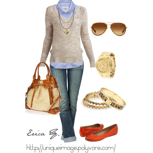 Classic.: Shoes, Sweaters, Fashion, Casual Outfit, Casual Friday, Clothing, Fall Outfit, Flats, Fall Styles