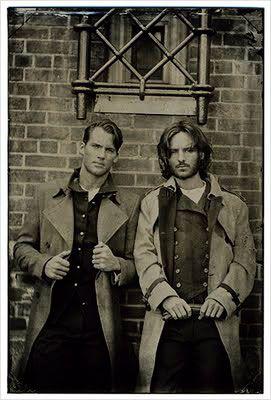 Victorian men, wow