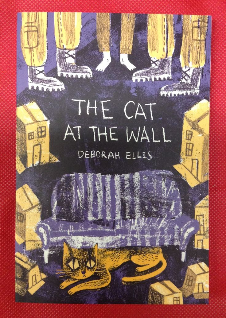 The Cat at the Wall, Deborah Ellis.  On Israel's  West bank, a cat sneaks into a small Palestinian house that has just been commandeered by two Israeli soldiers. The  house seems empty, until the cat realizes that a little boy is hiding beneath the floorboards. Should she help him? After all, she's just a cat. Or is she?