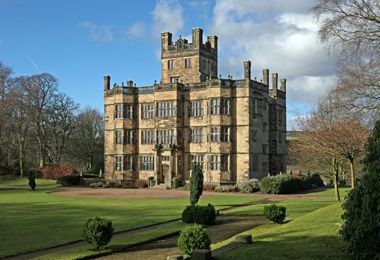Lovely castle in Lancashire, England: Gawthorpe Hall. Picture taken with www.canon-sx30is.com