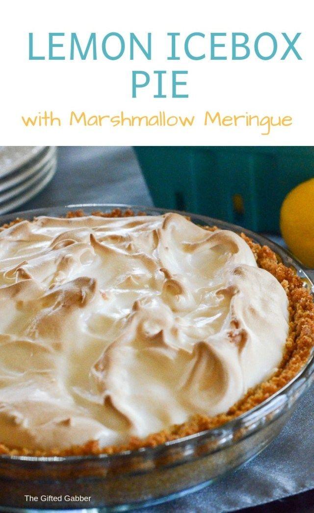 Lemon Icebox Pie Lemon Pie Receta The Gifted Gabber Recipe Lemon Icebox Pie Icebox Pie Easy Lemon Icebox Pie