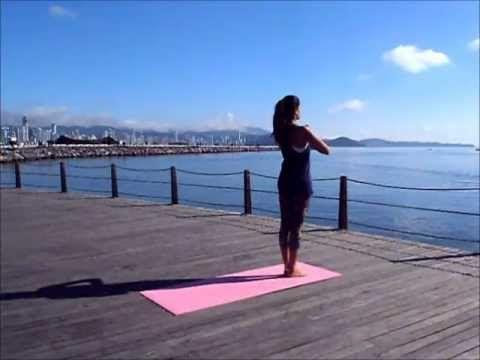 Surya Namaskar - Saudação ao Sol - YouTube (Nome das asanas do Surya Namaskar)