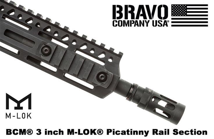 BCM M-LOK 1913 Picatinny Rail Sections