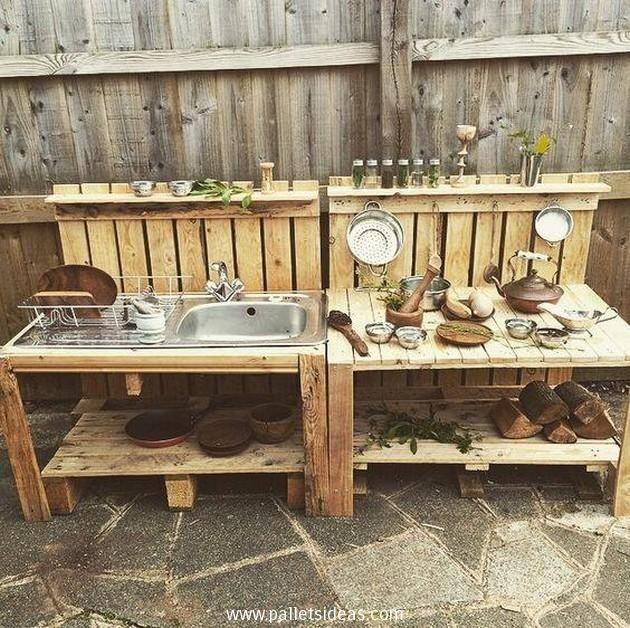 mud kitchen pallets - Google zoeken