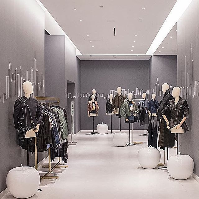 "SAKS FIFTH AVENUE, ""New York is the biggest collection of villages in the world', pinned by Ton van der Veer"