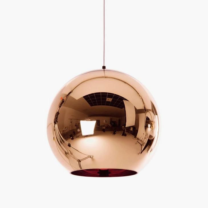 Copper Shade Ball Pendant Light Copper Pendant Lights Bronze